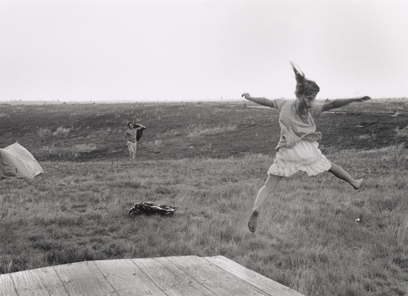 """In Flight,"" a silver gelatin print by David Brooks Stess."