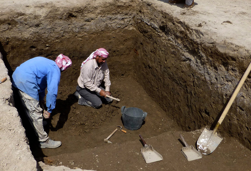 Excavations at Tell Khaiber, Iraq, have unearthed a huge, rare complex near the ancient city of Ur, home of the biblical Abraham.