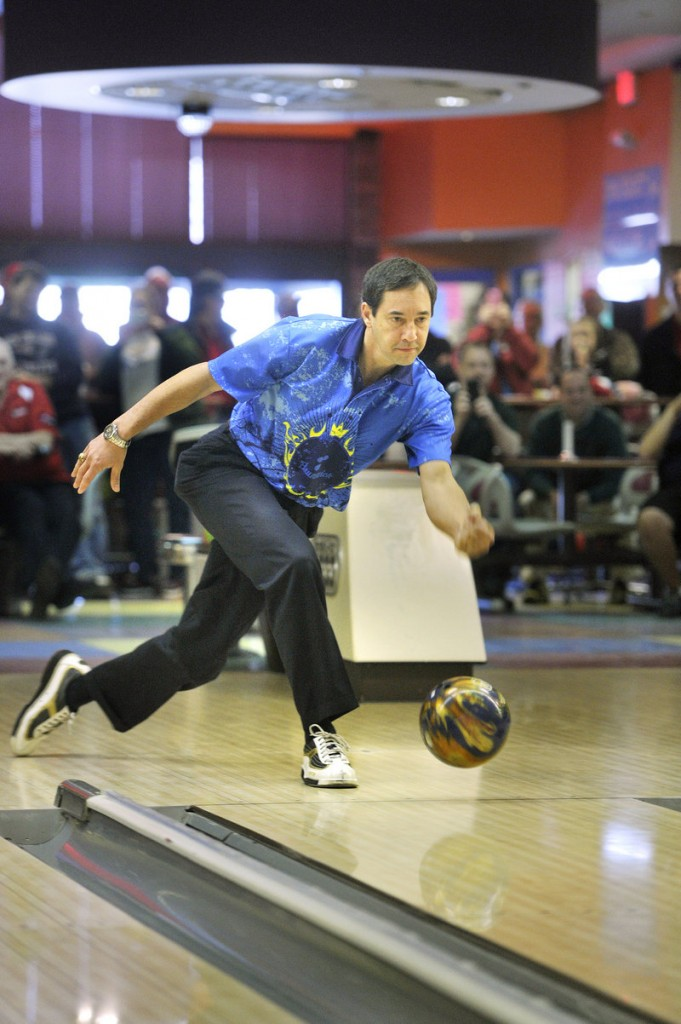 Parker Bohn III dropping in to give a bowling demonstration at Spare Time Lanes in Portland was like Paul Pierce dropping by to shoot baskets on a park court. The Hall of Famer showed his talent and the fans were appreciative.