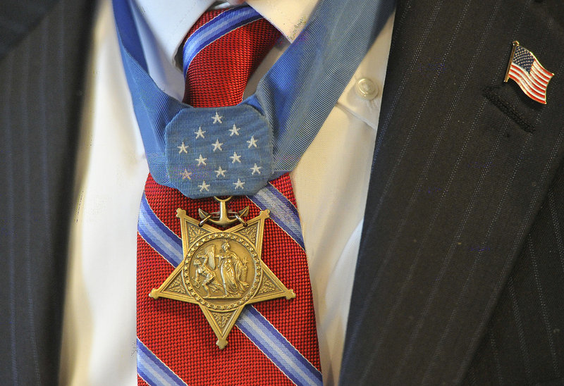 Capt. Hudner's Medal of Honor.