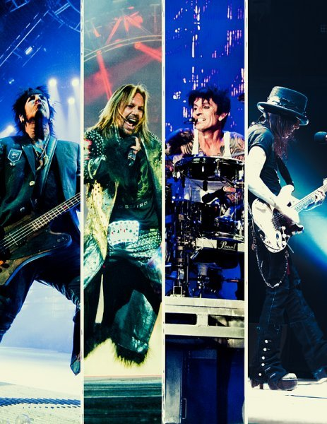 Motley Crue plays at Darling's Waterfront Pavilion in Bangor on May 16.