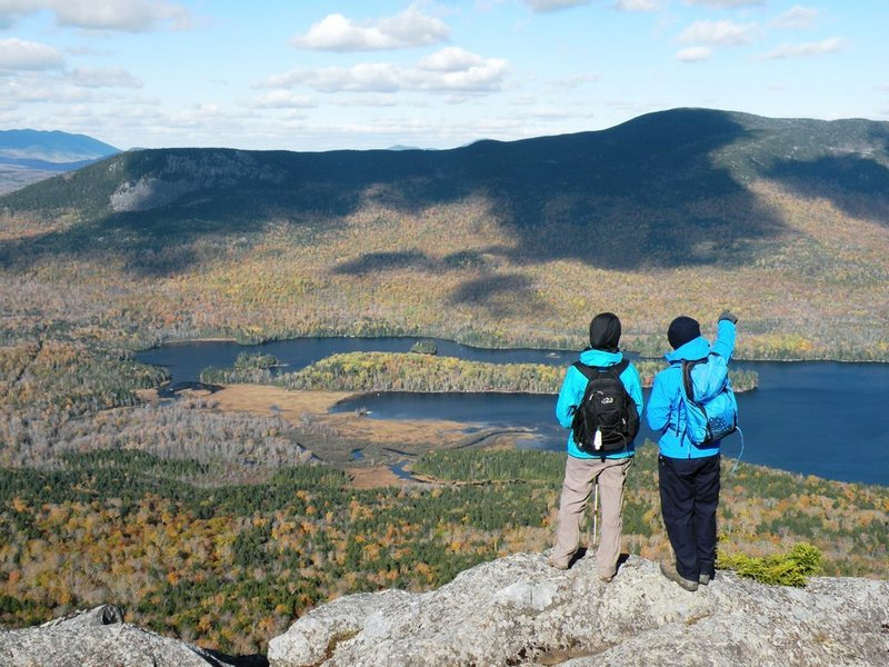 The views from Borestone Mountain are worth the hike to the craggy twin summits at 1,981 feet. And when the four-mile trek is complete, check out a hiker's haven on Lake Hebron.
