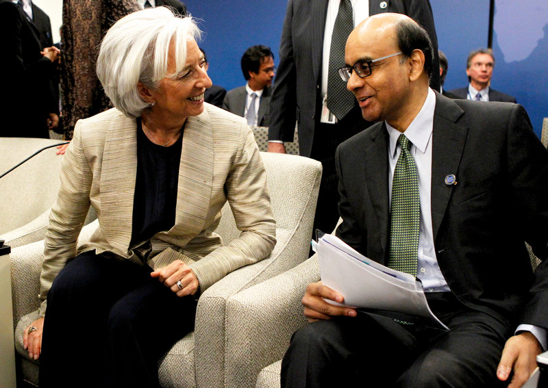 IMF panel chairman Tharman Shanmugaratnam says confidence is the key commodity lacking from the global economy.
