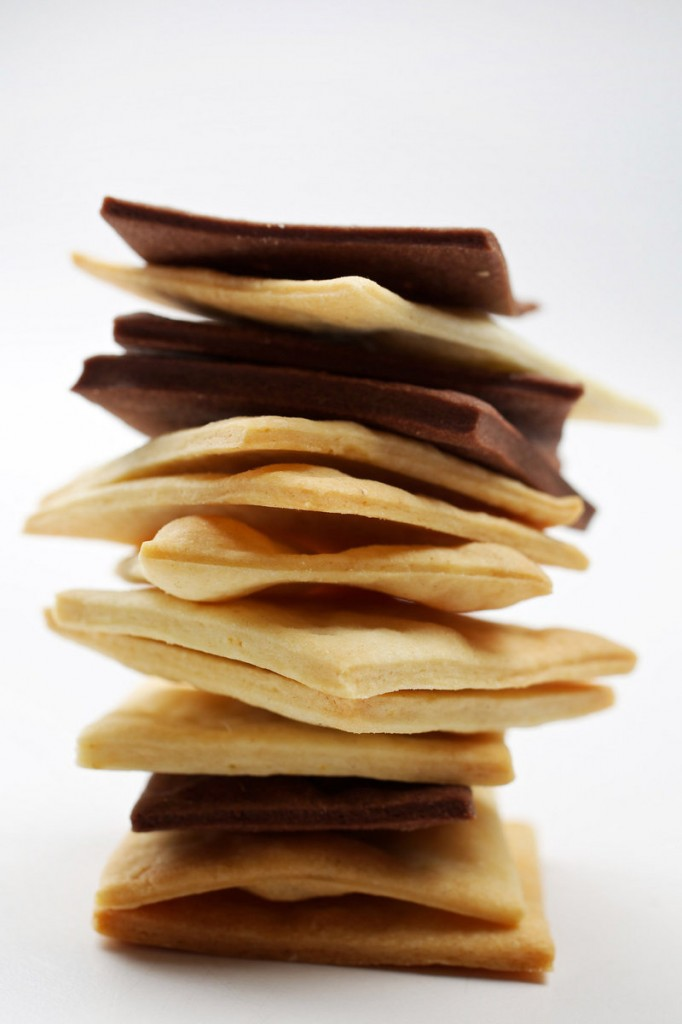 Butter is the key ingredient in Everona Market Crackers, whose variations include corn spice and cocoa versions.