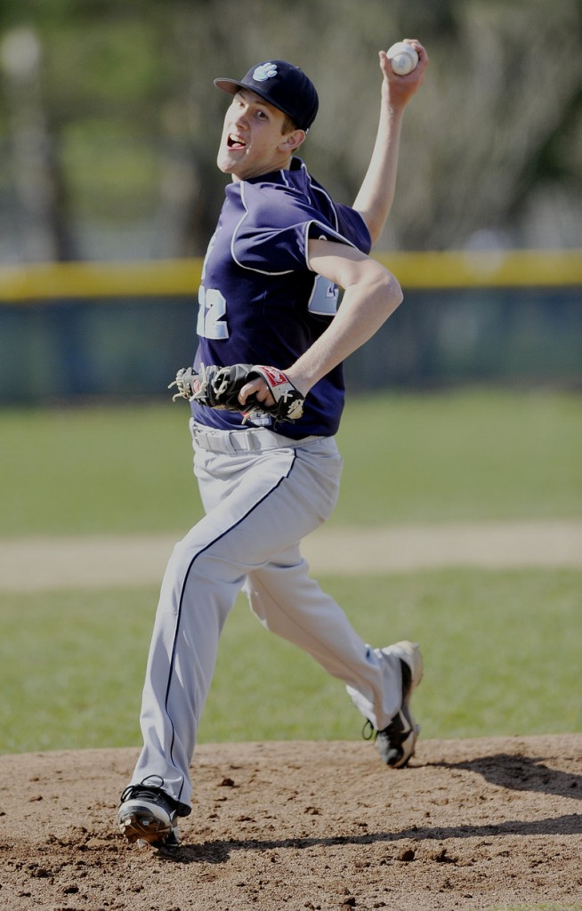 Adam Bailey struck out six and walked two for York against Freeport. He also had a single during a three-run third inning.