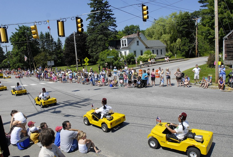 In this June 2010 file photo, members of the Kora Renegades make their way down the parade route as part of Windham's Summerfest. Despite early announcement, Windham's Summerfest is returning, organizers announced on Thursday, May 23, 2013.