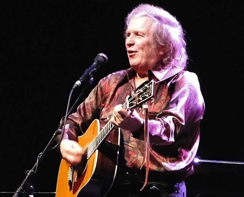 In this October 2012 photo, Don McLean performs at London's Royal Albert Hall. The legendary musician will headline Portland's Fourth of July celebration this summer.