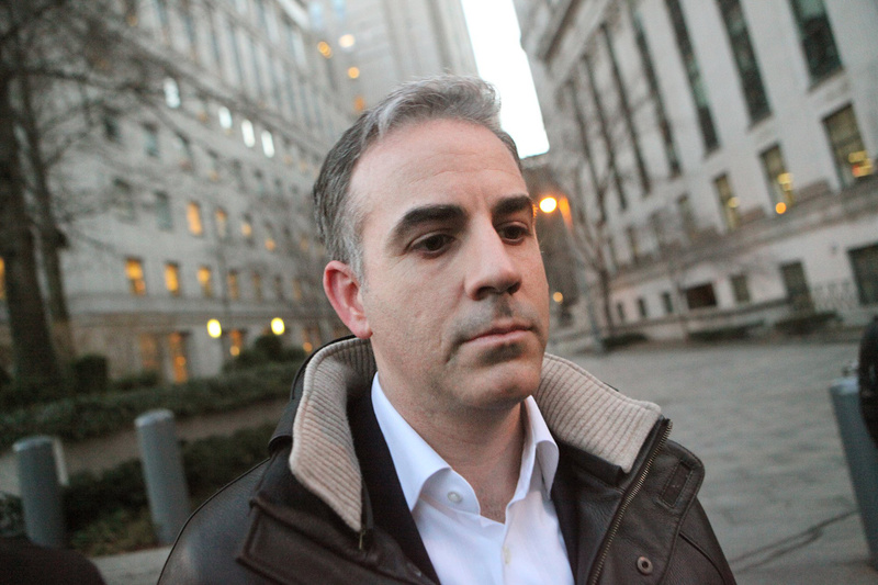 Level Global Investors LP co-founder Anthony Chiasson leaves Manhattan Federal Court in New York after being released on bail on charges of insider trading in January.