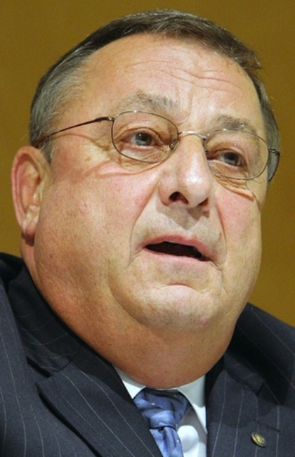 Gov. Paul LePage objects to the Clean Election Act, saying its