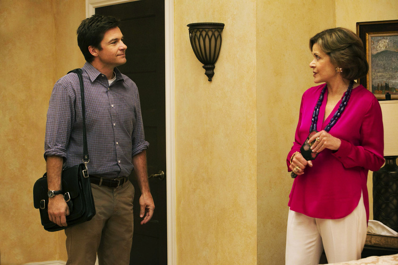 This undated publicity photo provided by Netflix shows Jason Bateman and Jessica Walter in a scene from the new season of