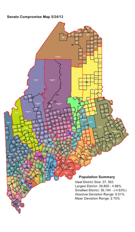 Maine Commission Unanimously Approves Redistricting