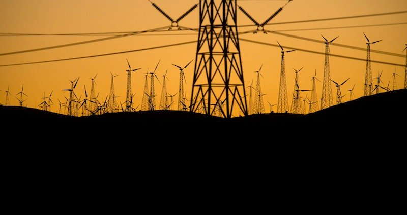 Windmills lining the Altamont Pass generate electricity on Sunday, May 12, 2013, near Livermore, Calif. It's the not-so-green secret of the nation's wind-energy boom: Spinning turbines are killing thousands of federally protected birds, including eagles, each year. (AP Photo/Noah Berger)