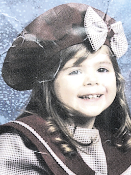 Logan Marr, 5, shown in a 2001 photo before she was found dead. logan marr foster child murder