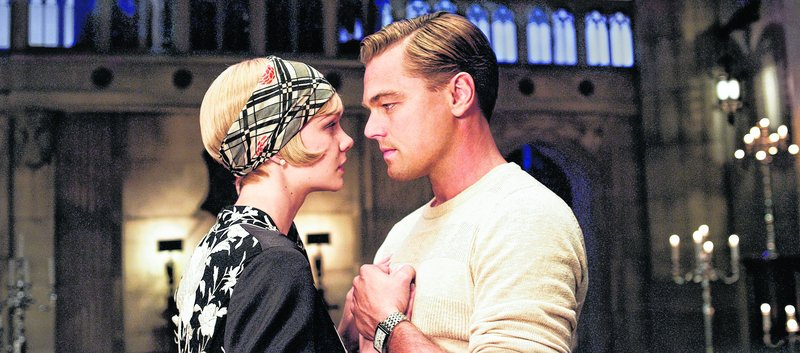 "Carey Mulligan and Leonardo DiCaprio in ""The Great Gatsby"""