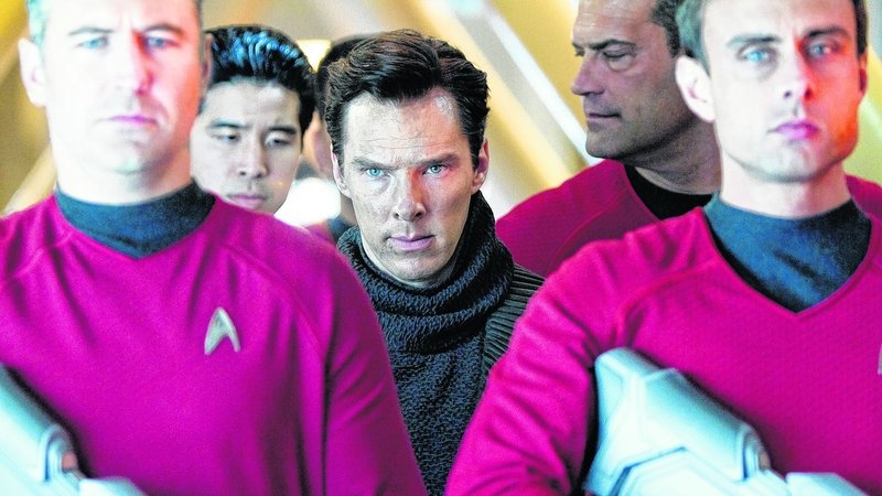 "Benedict Cumberbatch in ""Star Trek Into Darkness"""
