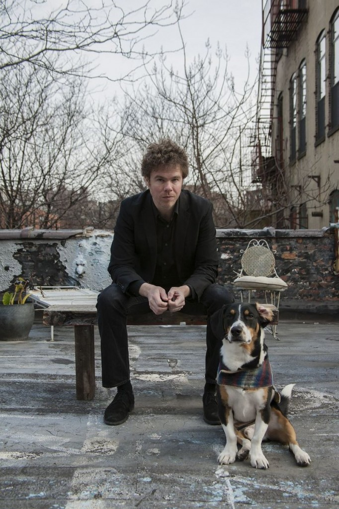 Josh Ritter and friend.