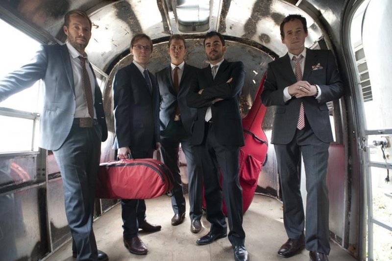 The bluegrass group Steep Canyon Rangers has concerts in Rockland on Saturday and in Brownfield on Sunday.