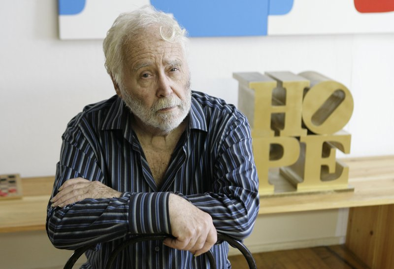 """Robert Indiana in 2008. The artist supports the effort to create a """"LOVE"""" license plate."""