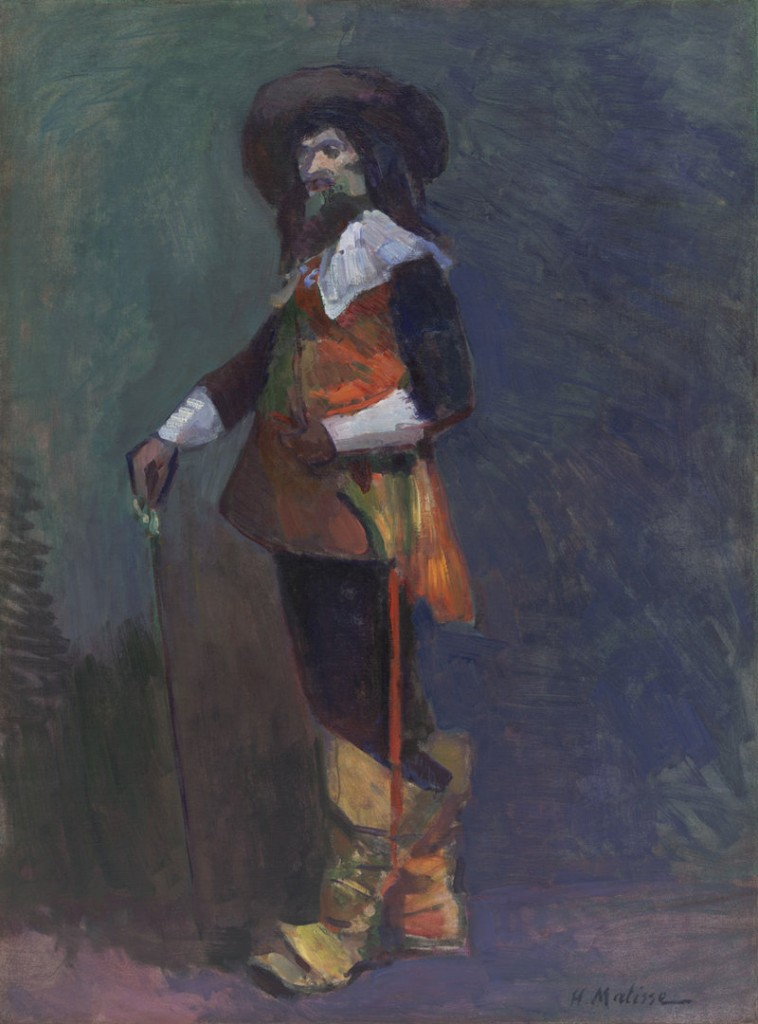"""The Musketeer,"" oil on canvas by Henri Matisse, 1903"