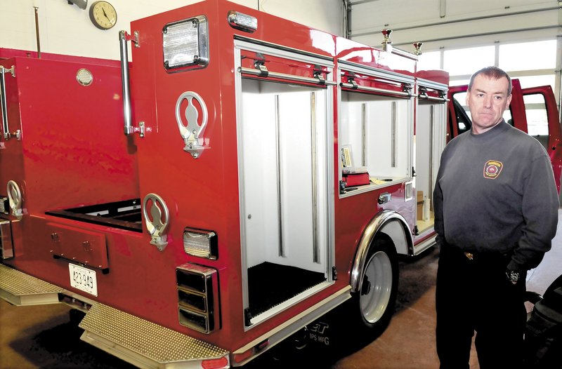 Farmington Fire Chief Terry Bell talks about his department's effort to build a squad truck.