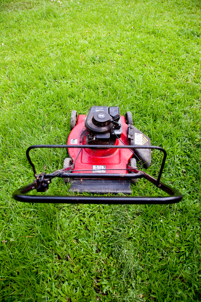 A lawn mower tune-up should include having the blade sharpened, replacing spark plugs and air filters, changing the oil and replacing old fuel if necessary, repair experts say.