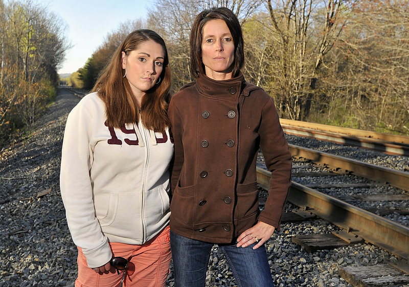 "Adriane Williams, left, and Ann-Marie Gribbin-Bouchard helped save a young man with a severed leg. If it weren't for them, ""my son would not be here,"" his mother said."