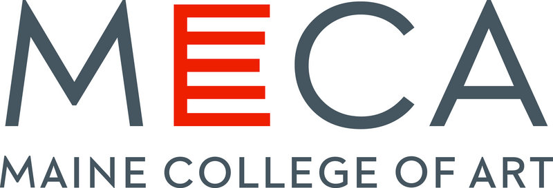 "The ""E"" in the new Maine College of Art logo, with its five horizontal bars instead of the usual three, is symbolic of MECA on many levels."