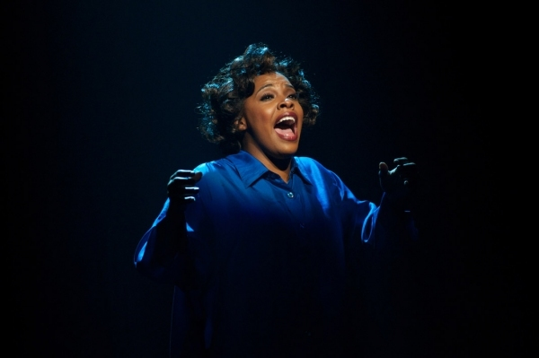"Bryonah Parham sings in ""Dreamgirls."""