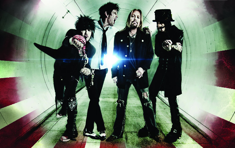 Motley Crue plays the pavilion Thursday.