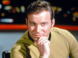 William Shatner as Capt. James T. Kirk
