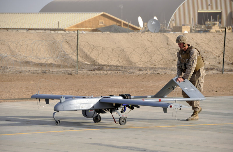 The military has used drones for years. But drones in American airspace are new and the law is unsettled.