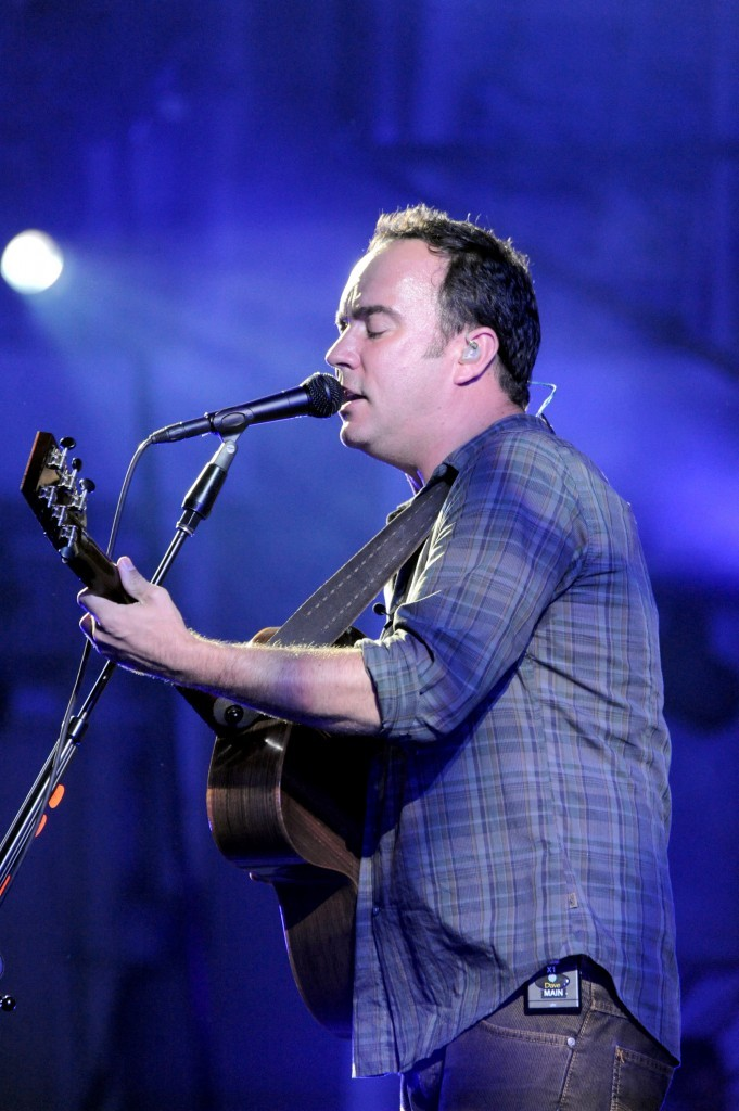 The Dave Matthews Band plays the Comcast Center in Mansfield, Mass., June 15 and 16.