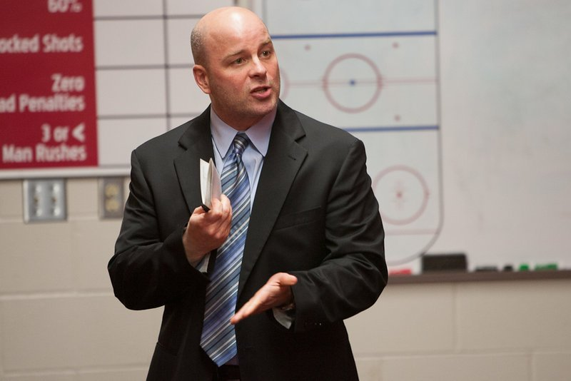 Jim Montgomery says he was never asked to pursue the hockey coaching job at the University of Maine – the school he led to an NCAA title – so off to Denver he goes.