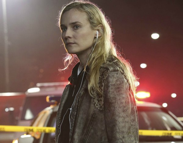 """Diane Kruger plays a detective in El Paso, Texas, in """"The Bridge,"""" premiering on FX July 10."""