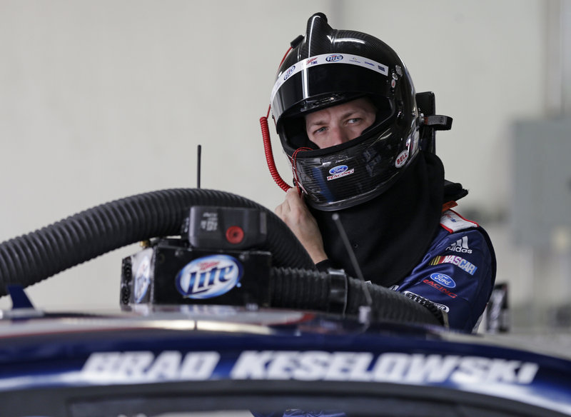 Despite a disappointing year, Brad Keselowski said he's not discouraged or distracted from following the path that will get him where he wants to be – a leader in the standings and in the NASCAR garage.