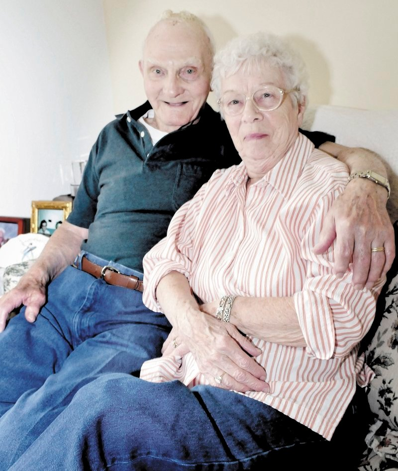 Larry and Dorothy Burleigh have been married more than 71 years, and 99-year-old Larry Burleigh was recently recognized as the oldest resident of Corinna.