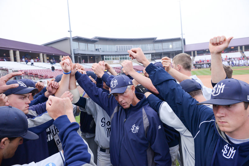 The one last effort was over and for one last time, USM Coach Ed Flaherty brought his team together Tuesday after the 4-1 loss to Linfield in the national championship game.