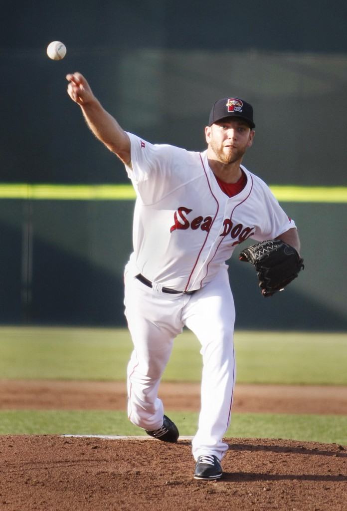 Former major leaguer Charlie Haeger's knuckleball kept the Altoona Curve off balance much of Friday night, with 15 of the 19 outs he registered coming either on ground balls or strikeouts.