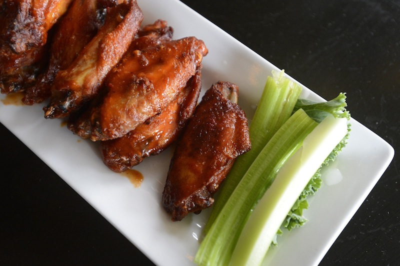 BBQ wings at Sea Dogs Brewing Co. in South Portland on Thursday, June 6, 2012.