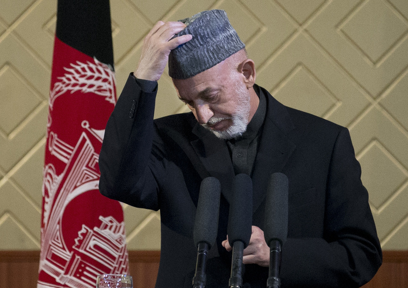 Afghan President Hamid Karzai was angered when the Taliban cast its office in Qatar as a rival Afghan embassy.