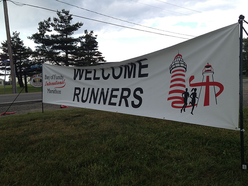 Lubec and Campobello expect a much-needed economic boost from Sunday's cross-border marathon, which lured 800 runners from nine countries and 37 states to the remote region.