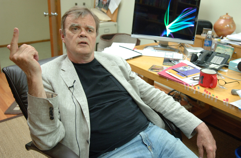 Radio show host Garrison Keillor will perform in Bangor and Hampton Beach, N.H., in July.