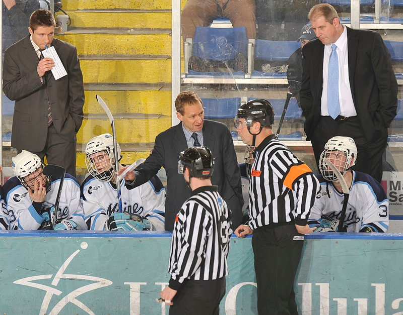 Bob Corkum was a UMaine player, had 12 years in the NHL and was on Maine's staff the last five years. Now? Out.