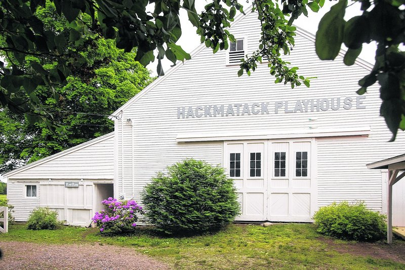 Hackmatack Playhouse in Berwick.