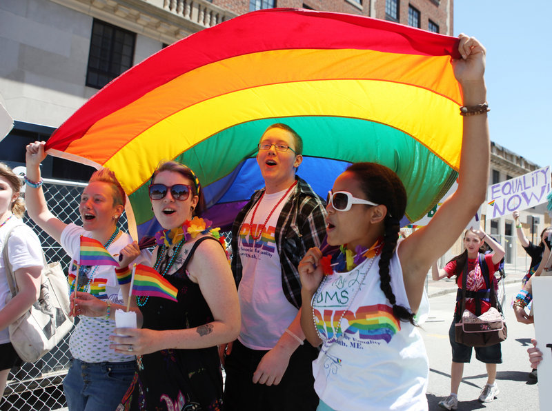 from Louie portland maine gay pride parade