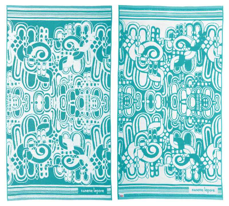 Reversible beach blanket by Nanette Lepore
