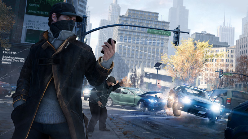 This video game image from Ubisoft shows a scene from