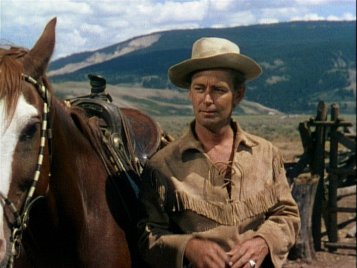 "Alan Ladd in ""Shane"""