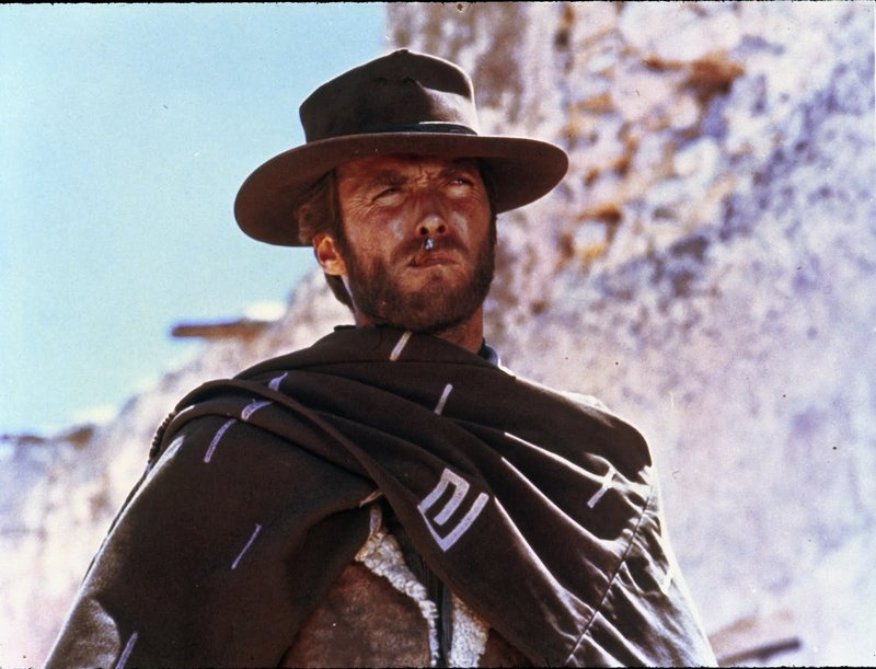 "Clint Eastwood in ""A Fistful of Dollars"""