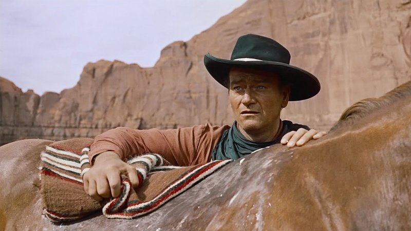 "John Wayne in ""The Searchers"""